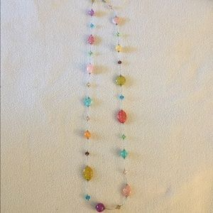 Multi-colored Fashion Necklace